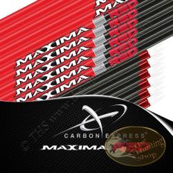 CARBON EXPRESS Maxima Red tubes nus pour flèches de chasse et tir 3D