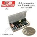 MTM Case-Gard Boîte de rangement, de protection et de transport pour 6 pointes  lames et accessoires