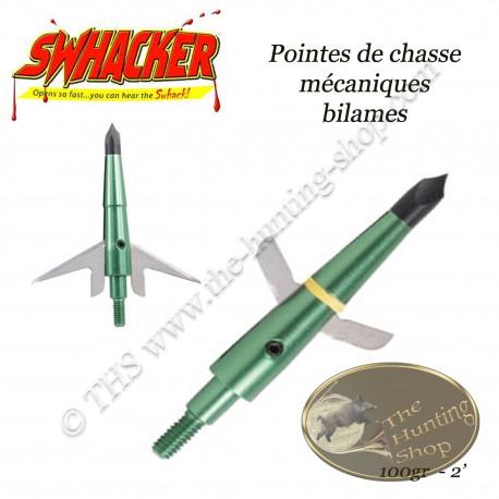SWHACKER Pointes de chasse mécaniques bilame