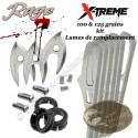 RAGE X-Treme Blades Lames de remplacement pour 3 pointes de chasse X-Treme 100 & 125 grains