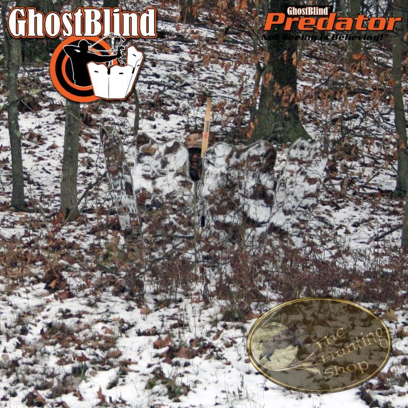 ghostblind predator hutteau miroir pour un aff t au sol invisible. Black Bedroom Furniture Sets. Home Design Ideas