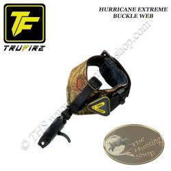 TRU-FIRE Hurricane Extreme Buckle Web décocheur à mâchoires bracelet camo à boucle pour la chasse et le tir 3D