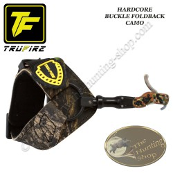 TRU-FIRE Hardcore Buckle Foldback décocheur à crochet bracelet camo à boucle pour la chasse et le tir 3D