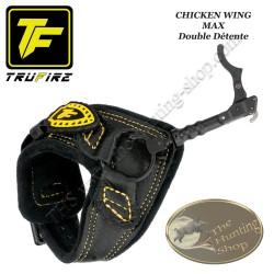 TRU-FIRE Chicken Wing MAX décocheur double détente à crochet bracelet noir à boucle pour la chasse et le tir 3D