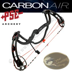 PSE Carbon Air 2016 Arc compound à poulies en carbone monocoque All Black