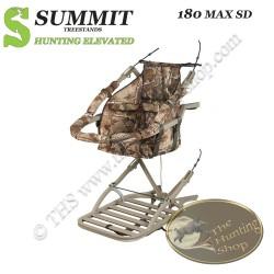 SUMMIT Treestand auto-grimpant 180 MAX - Le Réversible...