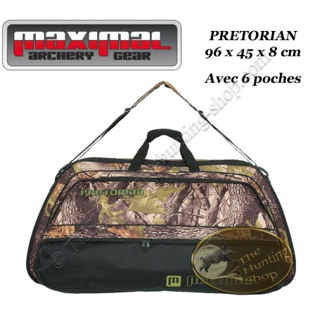 MAXIMAL Pretorian Housse camo compacte de transport et protection pour arc compound