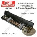 MTM Case-Gard BHUC-40 Boîte à flèches NOIRE pour le transport et le rangement de 12 flèches