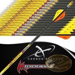 CARBON EXPRESS Mayhem Hunter flèches de chasse et tir 3d empennées
