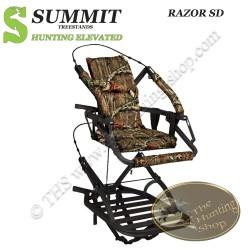 SUMMIT Treestand auto-grimpant RAZOR SD - Le Convertible...