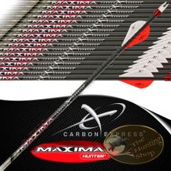 CARBON EXPRESS Maxima Hunter flèches de chasse et tir 3d empennées