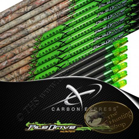 CARBON EXPRESS PileDriver Hunter tubes nus pour flèches de chasse