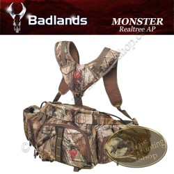 BADLANDS Monster Sac de chasse banane avec harnais de suspension Realtree AP Camo