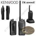 KENWOOD TK-2000E Radio portative compacte pour la chasse de type talkie walkie FM VHF