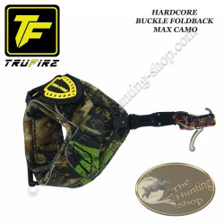 TRU-FIRE Hardcore Buckle Foldback MAX CAMO décocheur à crochet bracelet camo à boucle pour la chasse et le tir 3D