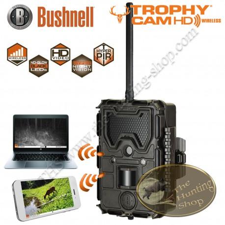 BUSHNELL Trophy Cam HD Wireless Caméra invisible chasse et sécurité avec transmission photos par e-mail GPRS MMS - 119598