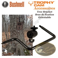 BUSHNELL Trophy Cam Tree Bracket Support orientable à visser dans un arbre pour caméra de surveillance et de chasse