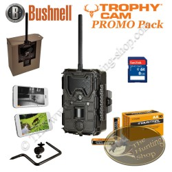 Bushnell Trophy Cam HD Wireless PROMO Full Option Pack