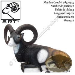 SRT TARGETS Cible 3D Mouflon couché en mousse pour le tir à l'arc - Groupe 2 - 08470545