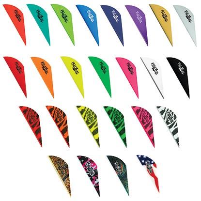 """Coloris de vanes blazer 2"""" pouces de bohning en vente chez The Hunting Shop"""