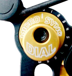 Système de synchronisation sans presse Bowtech Micro Sync Dial