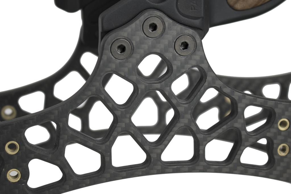 Poignée d'arc Gearhead en fibre de carbone