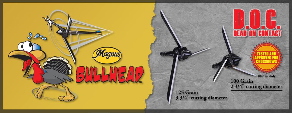Les impressionnantes Magnus Bullhead sont en vente chez The Hunting Shop