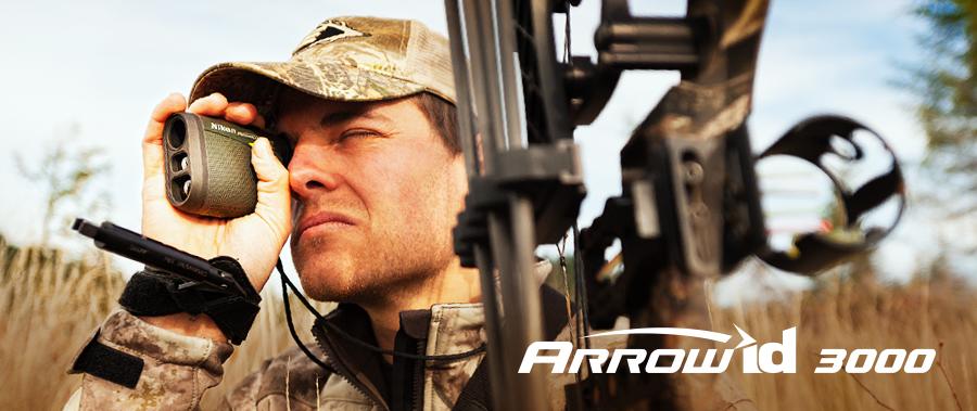 Le télémètre spécial archer Nikon Arrow Id 3000 est en vente chez The Hunting Shop