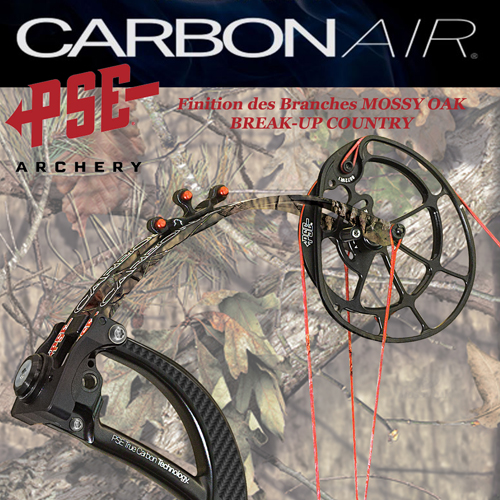 PSE Carbon Air Black & Mossy Oak Break-Up Country