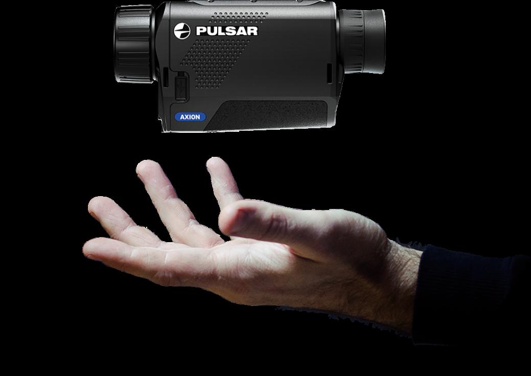 La Pulsar Axion XM30S tient dans une main!