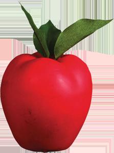 Rinehart Cible Pomme Apple 3D