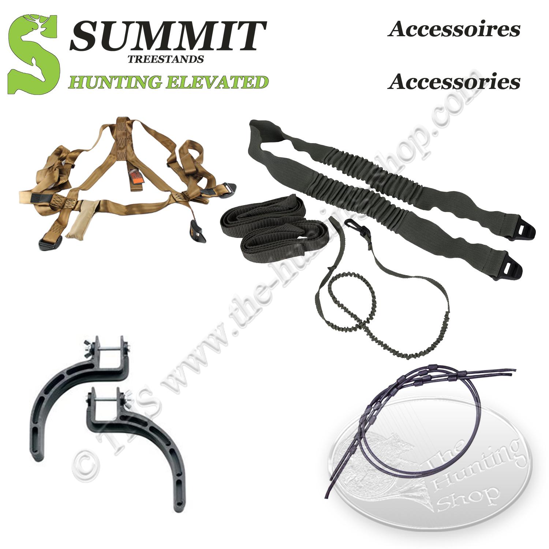 Accessoires fournis avec le Summit Open Shot SD