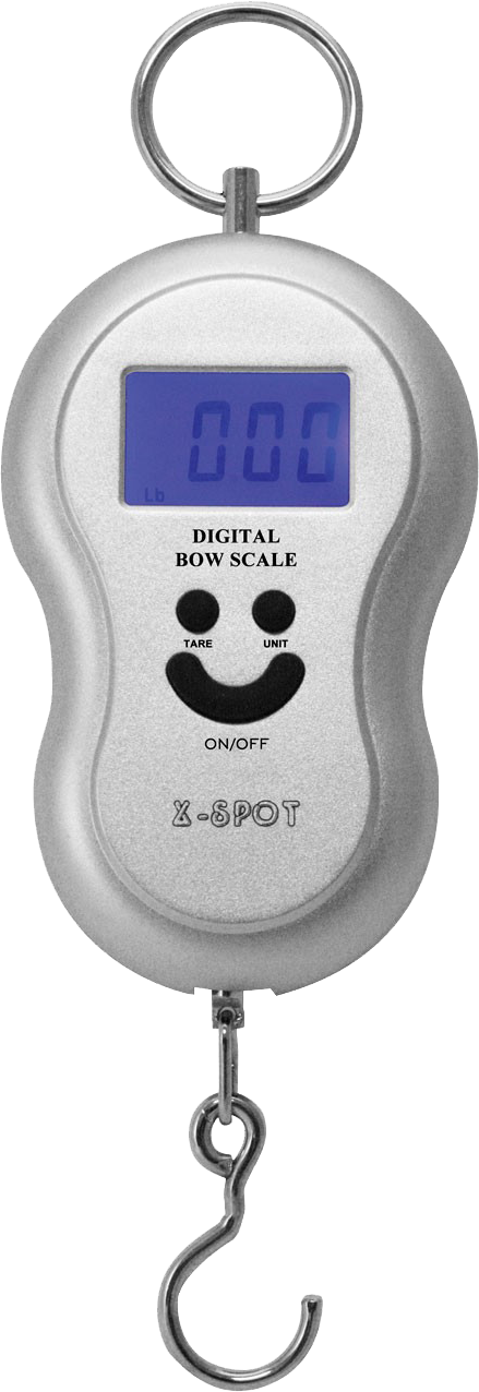 Peson X-Spot pour mesurer la puissance de votre arc