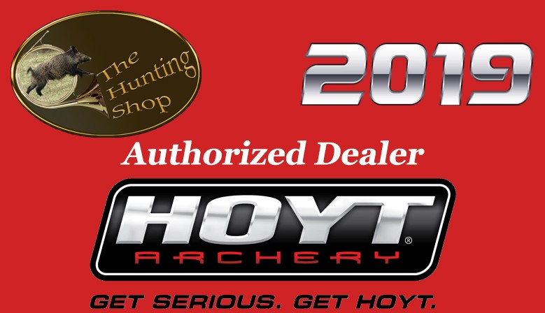The Hunting Shop est revendeur agrée pour toute la gamme d'arcs compound Hoyt Archery 2019
