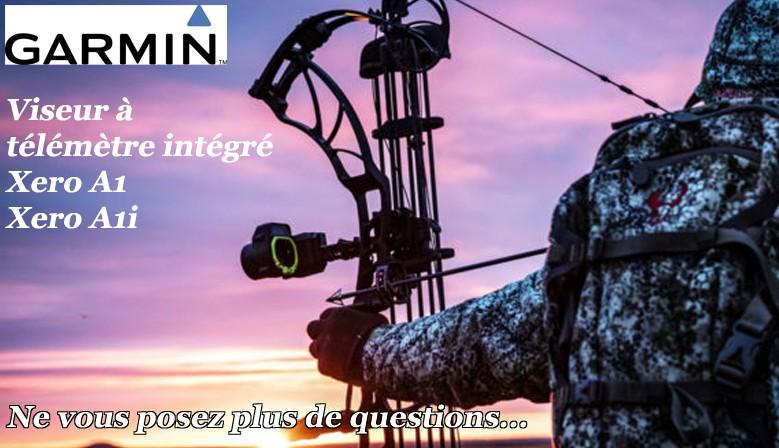 Commandez déjà votre viseur Garmin Xero à télémètre intégré chez The Hunting Shop
