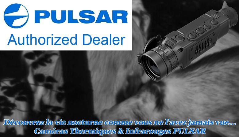 Cliquez pour voir toute la gamme d'appareils de vision nocturne de PULSAR