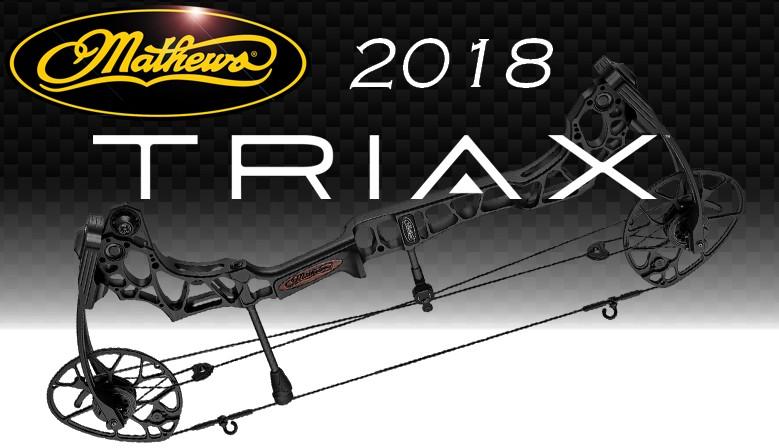 Le nouveau Mathews TRIAX 2018 disponible dès maintenant chez The Hunting Shop...