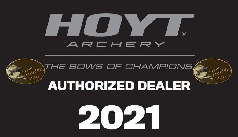 The Hunting Shop est revendeur agrée pour toute la gamme d'arcs compound Hoyt Archery 2021