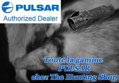 Toute la gamme d'optiques thermiques PULSAR est en vente chez The Hunting Shop