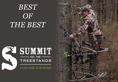 Tous les treestands et accessoires Summit